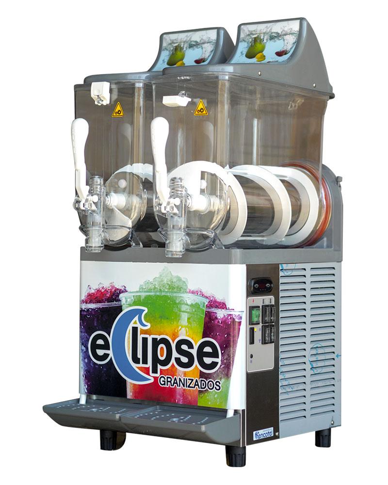 Maquina de granizados Eclipse 10l + 10l
